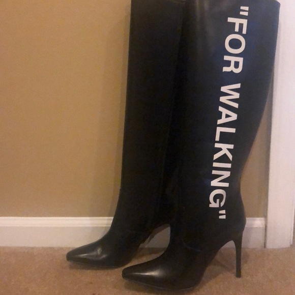 Off-White Shoes | Offwhite Tall Boots
